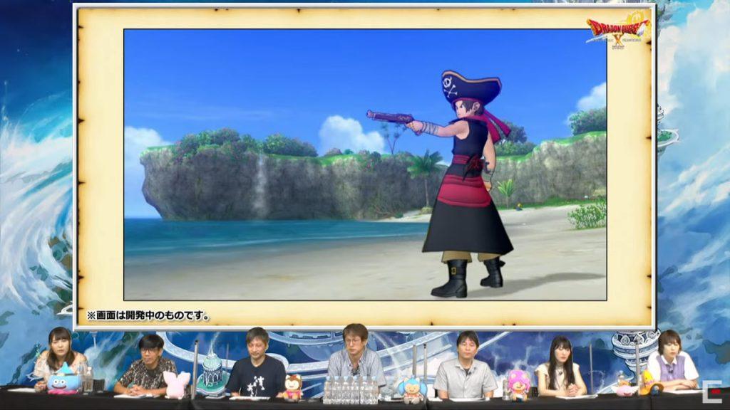 海賊の特技は銃